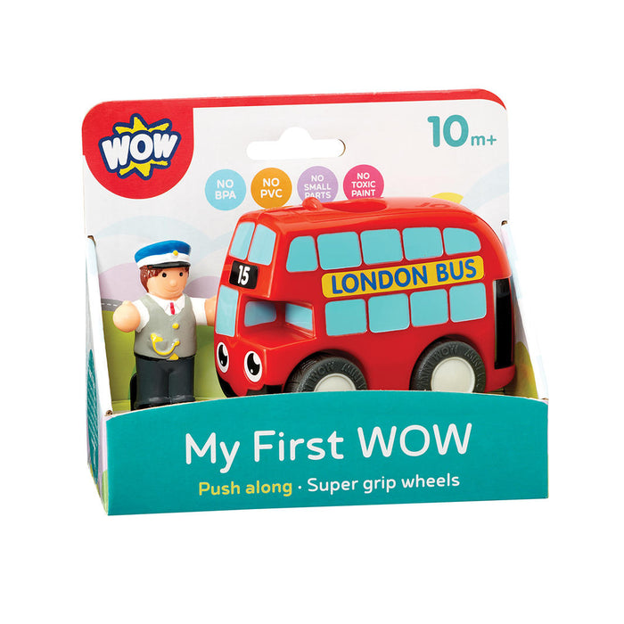 My First WOW-Red Bus Basil - KidsnToys.co.nz