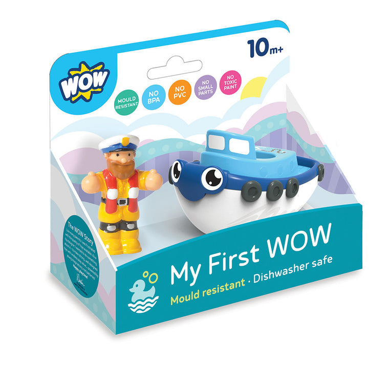 My First WOW-Tug Boat Tim (Bath Toy)