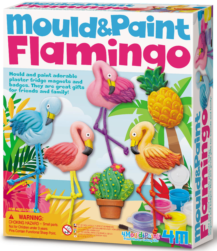 4M Craft: Mould & Paint Flamingos