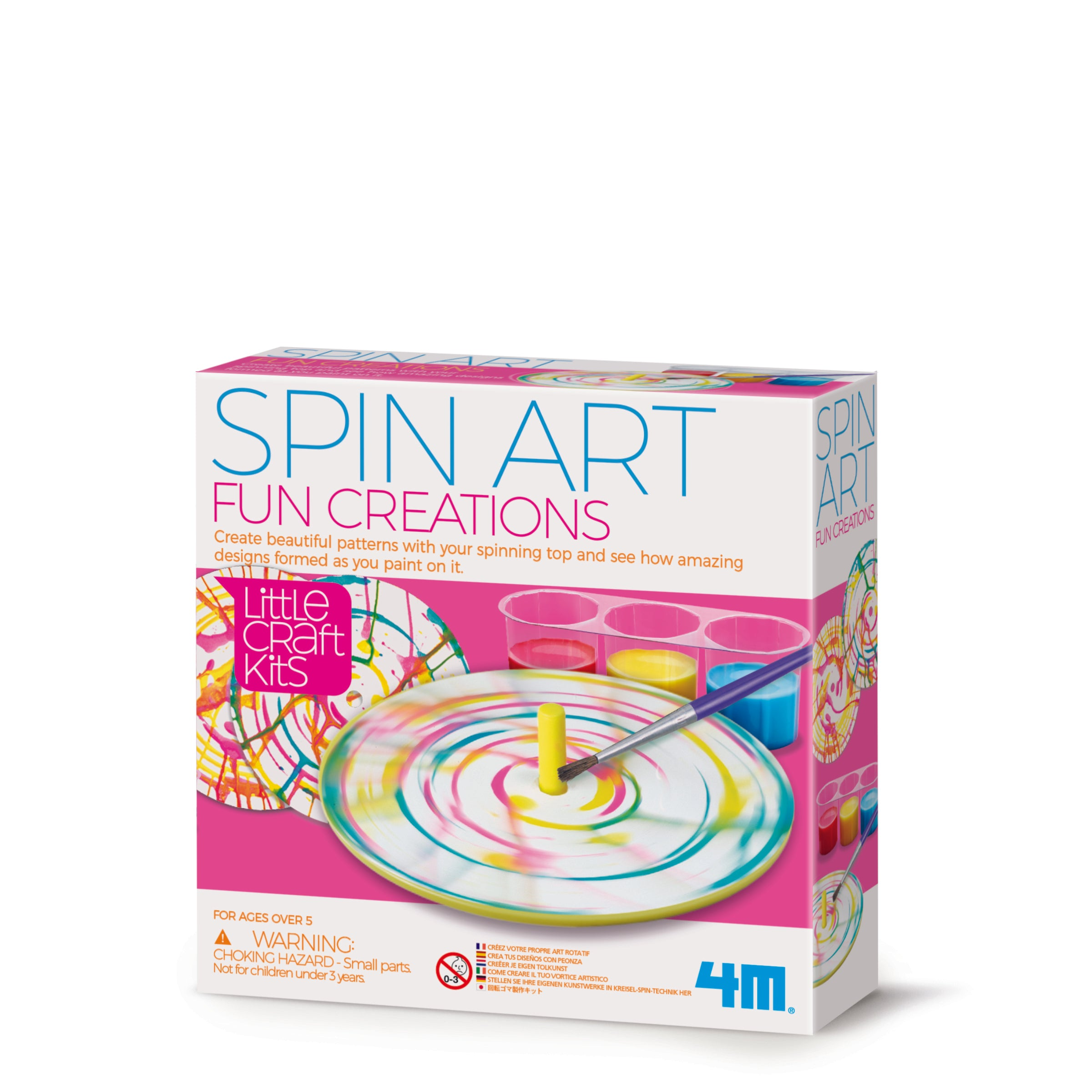 4M Craft: Spin Art Fun Creations