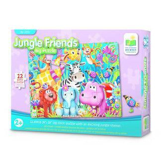 The Learning Journey - My First Big Floor Puzzle Jungle Friends