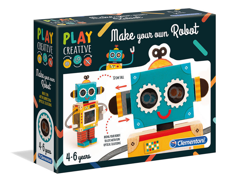 Clementoni: Play Creative - Fun Robot