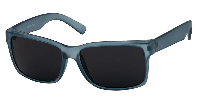 Unity Kids - Matte Black/Dark Blue Sunglasses