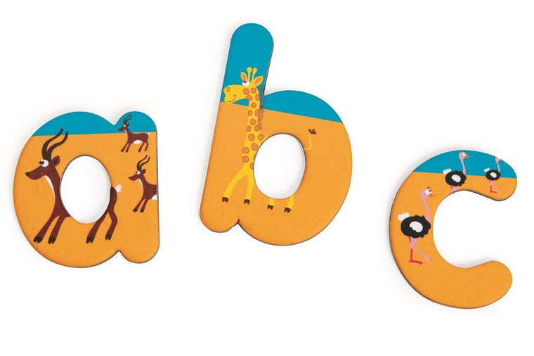 Scratch: Magnetic Letters  ABC Safari