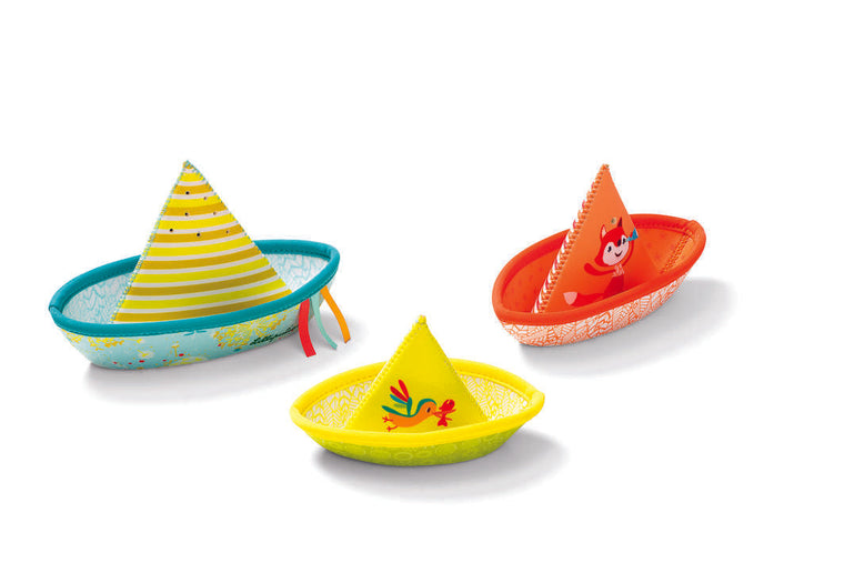 LILLIPUTIENS - 3 Floating Boats