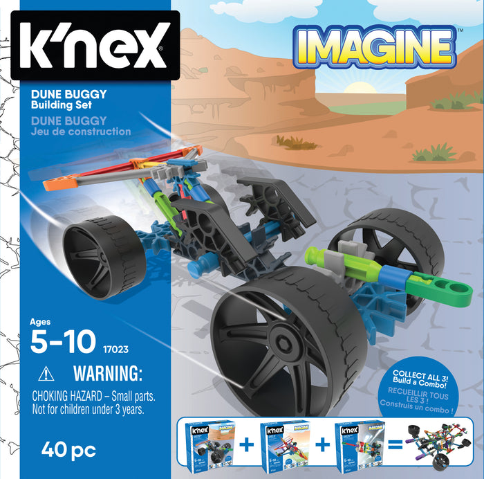 KNEX - Dune Buggy Building Set (4865415512135)