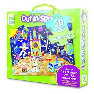The Learning Journey - Out in Space Jumbo Floor Puzzle - KidsnToys.co.nz
