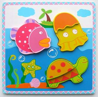 Chunky Sea Puzzle - KidsnToys.co.nz