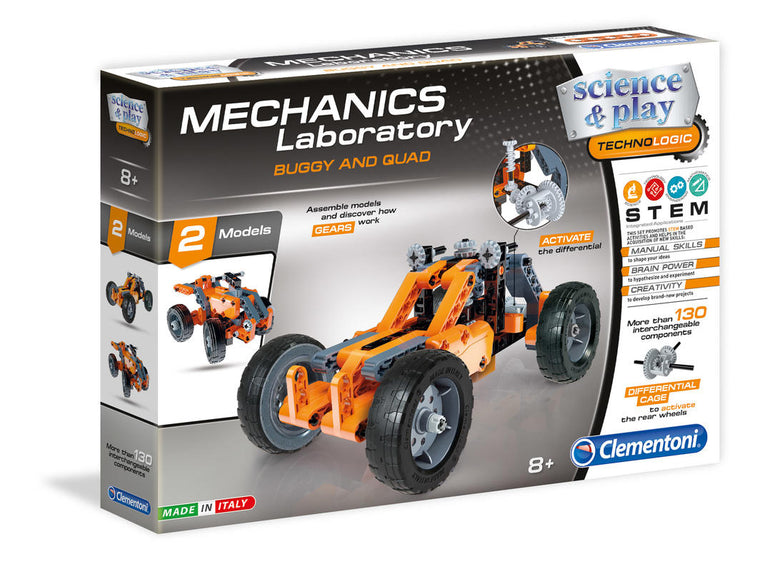 Clementoni: Science & Play Mechanics Lab-Buggy and Quad
