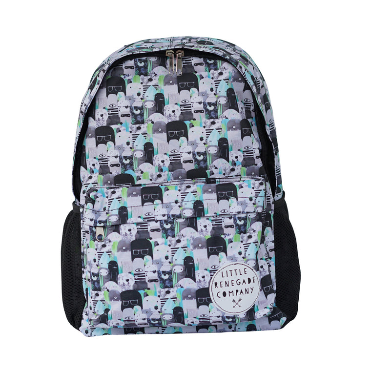 Little Renegade Company: Bears and Beasties Backpack - Midi Size