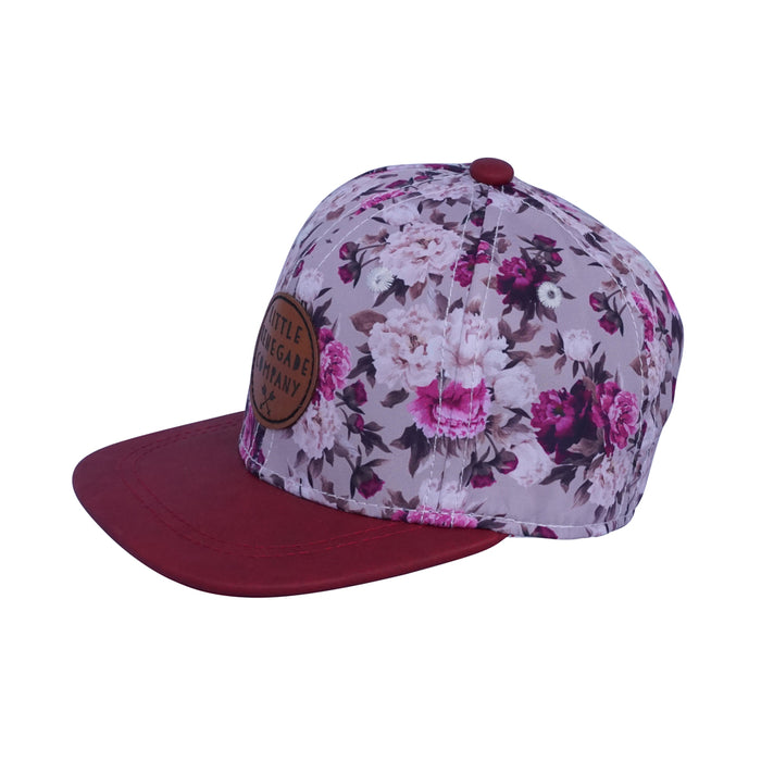 Little Renegade Company: Blooming Berry Snap Back Cap - KidsnToys.co.nz
