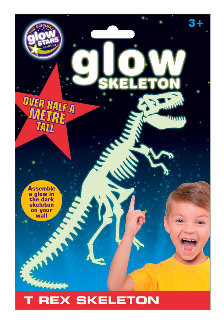 Glow Star Co: Big Glow T-Rex Skeleton