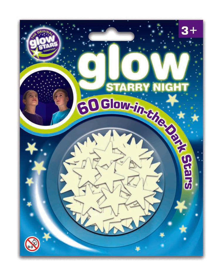 Glow Star Co: Glow Starry Night, 60pcs