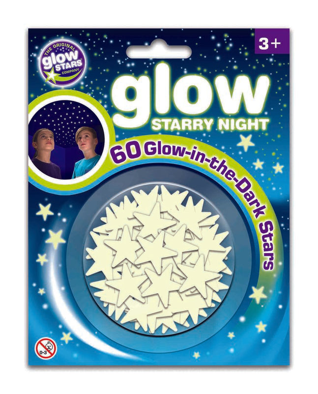 Glow Star Co: Glow Starry Night, 60pcs - KidsnToys.co.nz