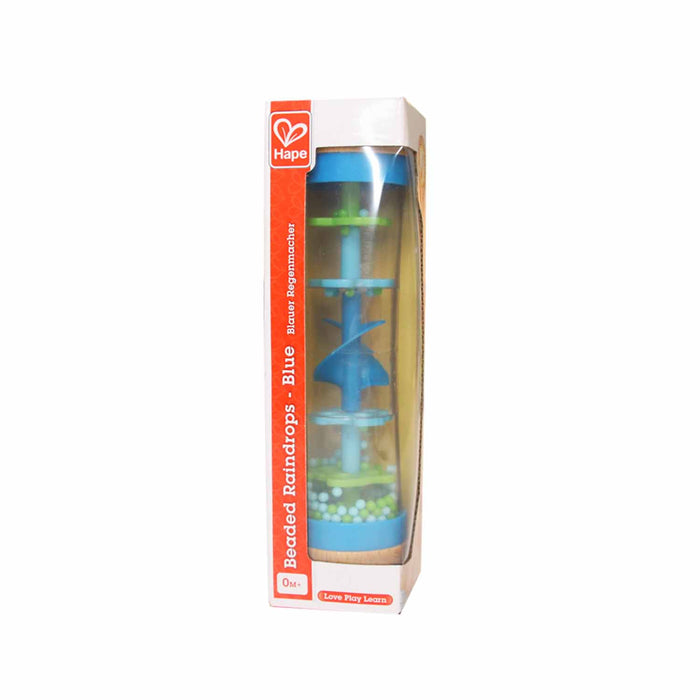 Hape Beaded Raindrops - Blue or Red - KidsnToys.co.nz