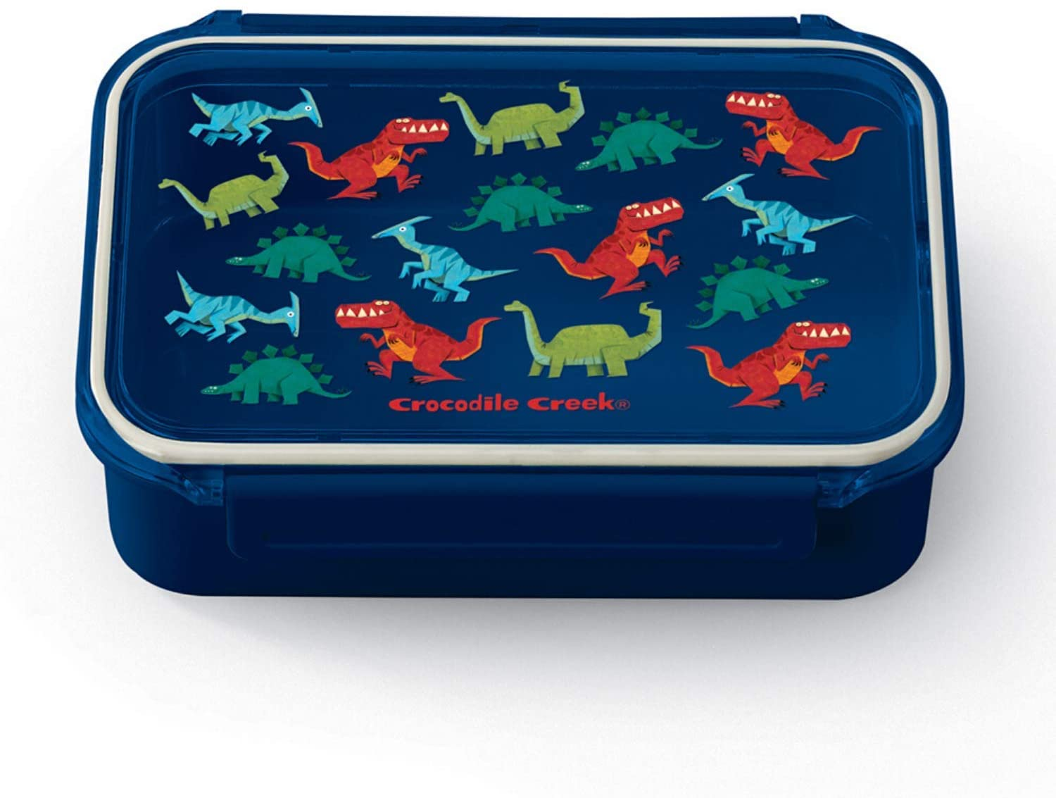 Crocodile Creek Bento Style Lunch Box - Dinosaurs