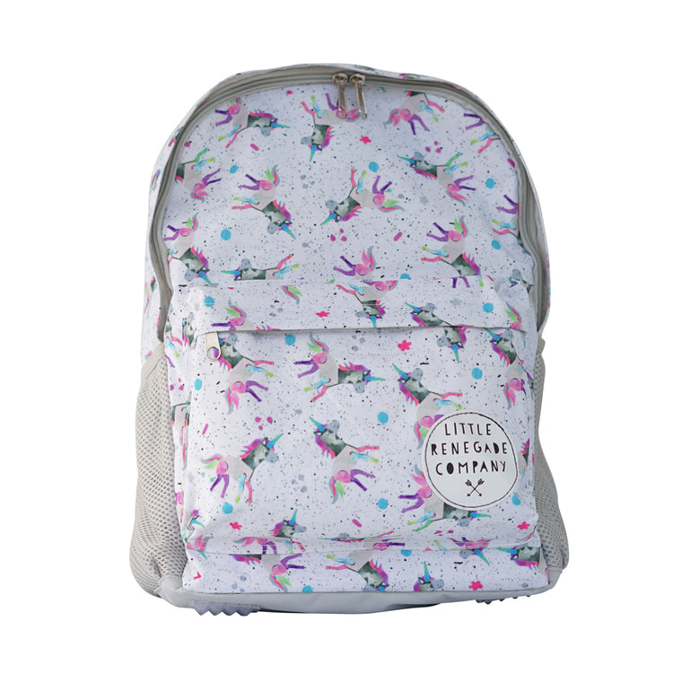 Little Renegade Company: Sparkles Unicorn Backpack - Midi Size