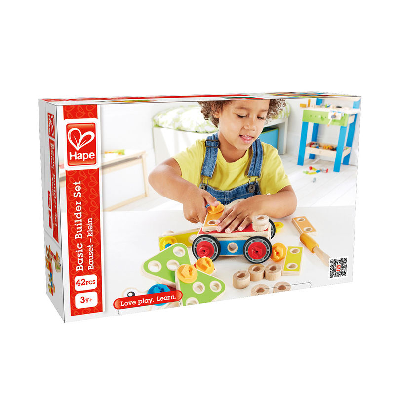 Hape: Basic Builder Set