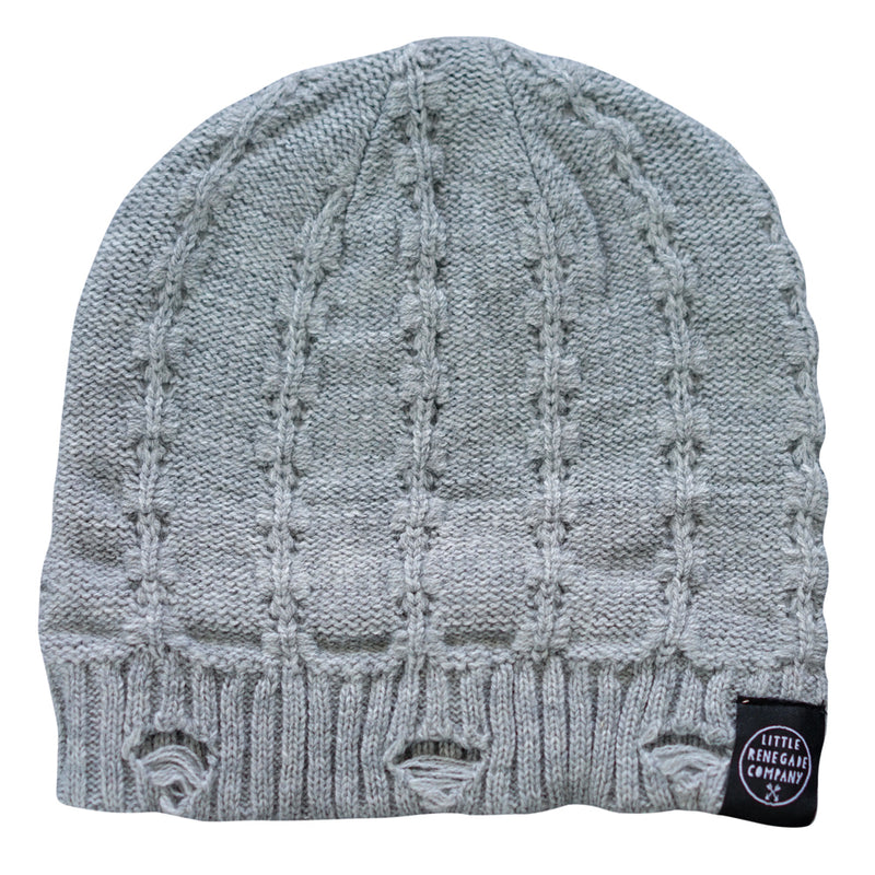 Little Renegade Company: Everest Beanie - Grey - KidsnToys.co.nz
