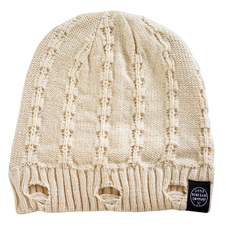 Little Renegade Company: Everest Beanie - Off White