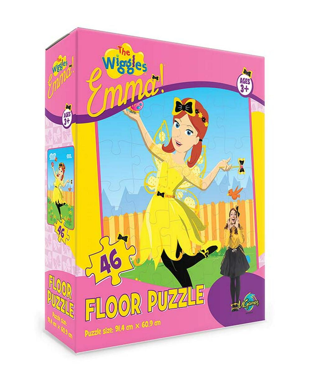 The Wiggles Emma 46pc Floor Puzzle - KidsnToys.co.nz