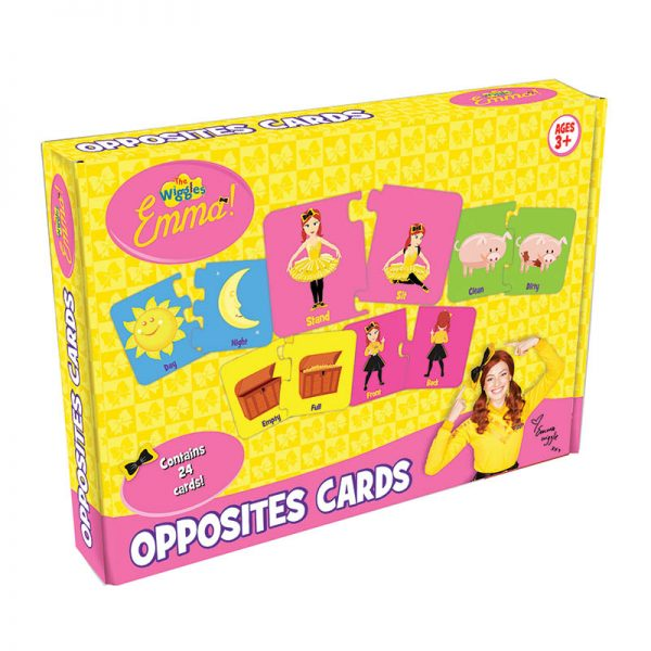 The Wiggles: Emma Opposites Cards