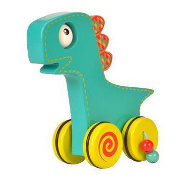 Fiesta Crafts: Push N Roll - Dino