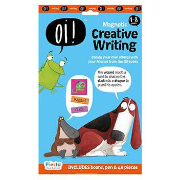 Fiesta Crafts: Oi! Magnetic Creative Writing - KidsnToysNZ