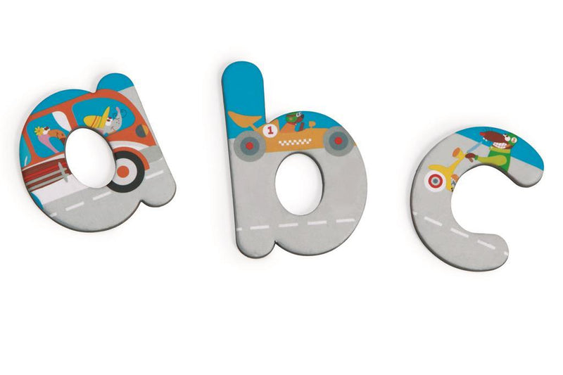 Scratch: Magnetic Letters - ABC City - KidsnToys.co.nz