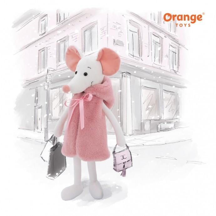 Orange Toys: Fluffy the Mouse - KidsnToys.co.nz