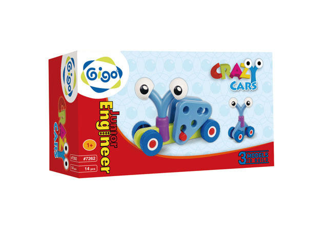 GIGO: Crazy Cars, 14pcs
