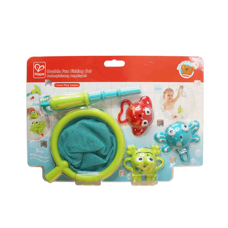 Hape Double Fishing Set Bath Toys