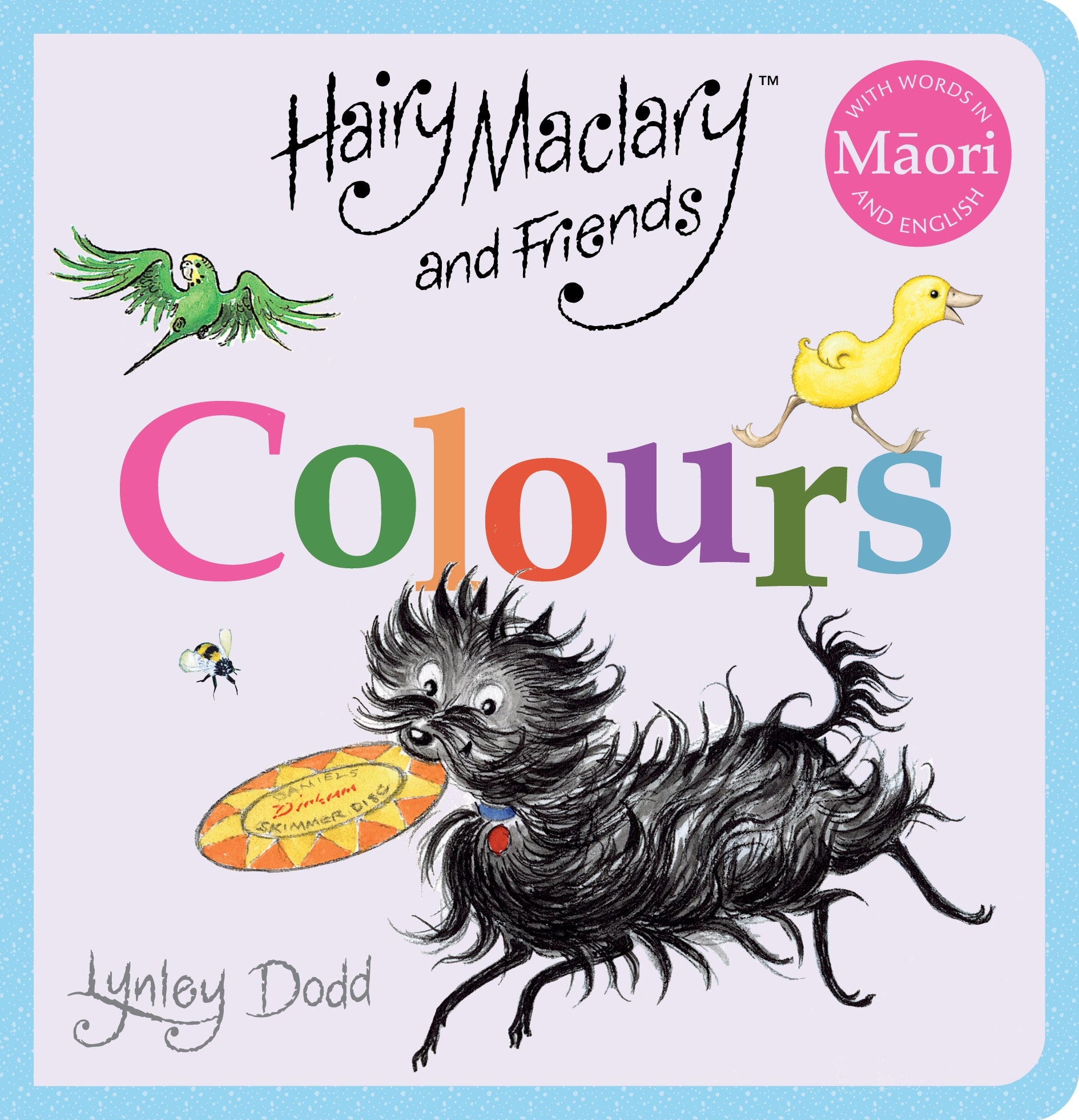 Hairy Maclary and Friends: Colours in Maori and English (6086564085960)