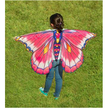 Hearth Song: Fantasy Butterfly Wings Pink & Blue