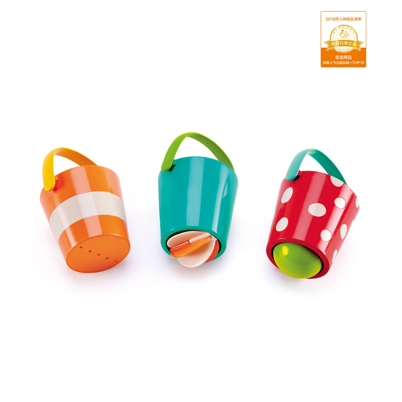 Hape Happy Buckets Set - KidsnToys.co.nz