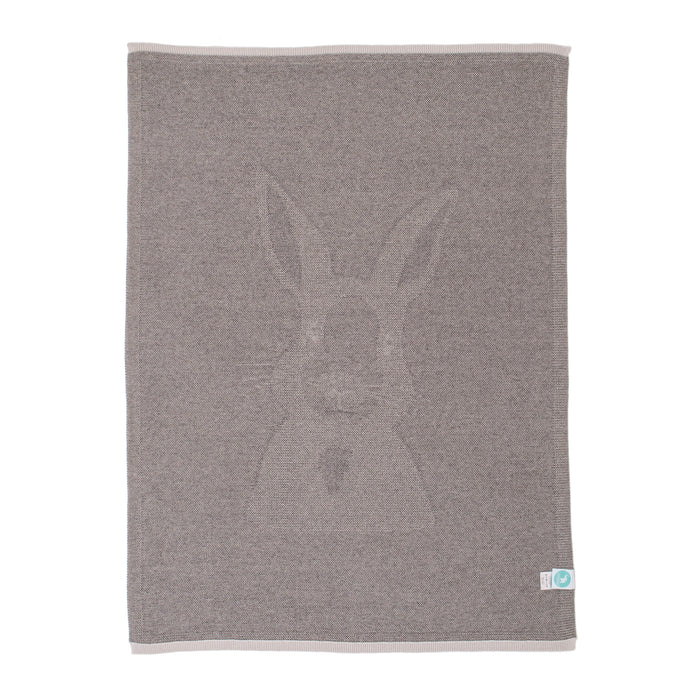 All4Ella: Knitted Blanket - Bunny - KidsnToys.co.nz