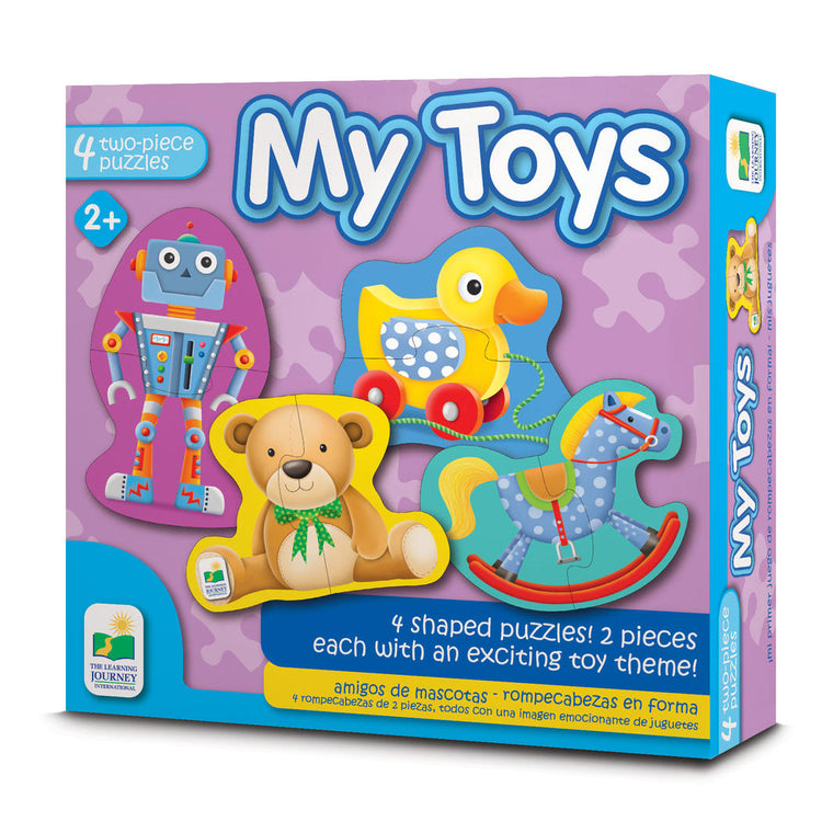 The Learning Journey - My First Shaped Puzzles - My Toys