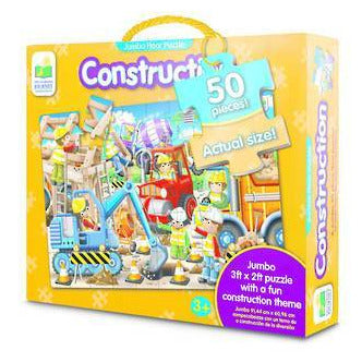 The Learning Journey - Construction Jumbo Floor Puzzle