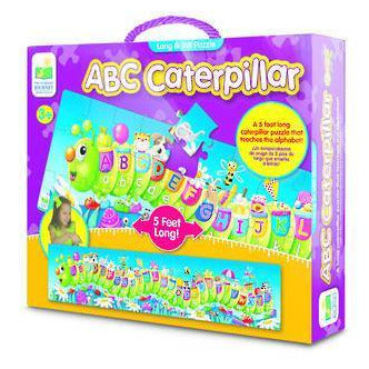 The Learning Journey - ABC Caterpillar Puzzle