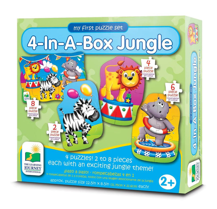 The Learning Journey - Jungle 4 in a Box Puzzles