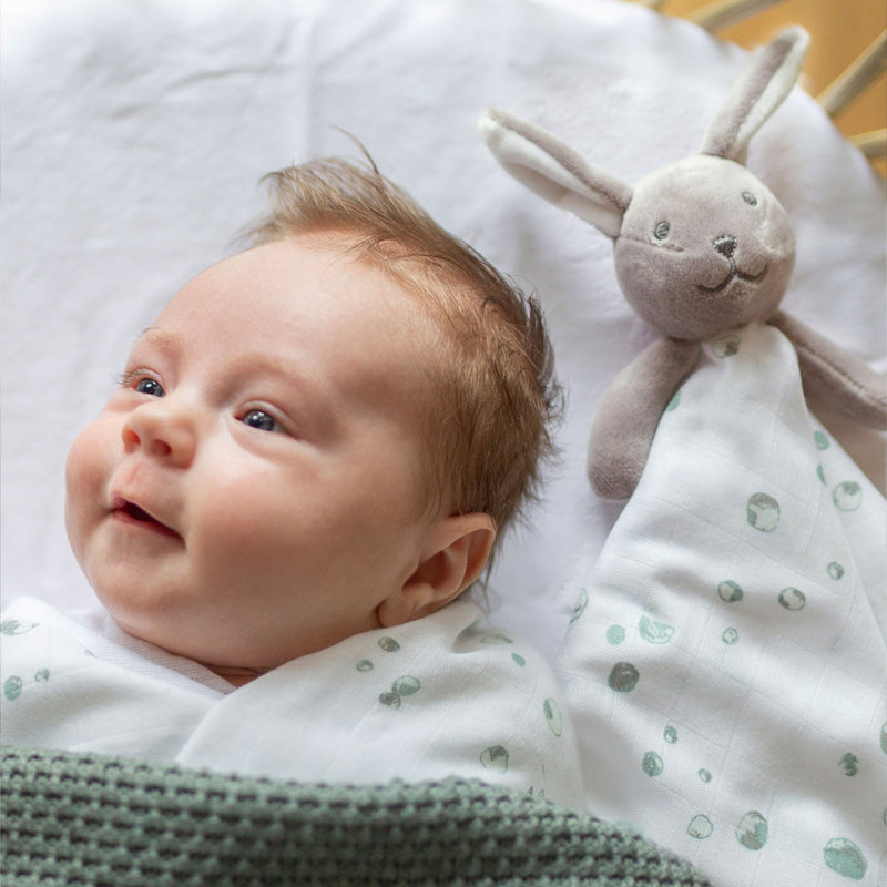 Little Linen: Blair the Bunny Bamboo Comforter - KidsnToys.co.nz (4660717355079)