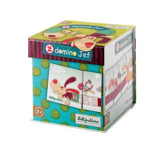 Lilliputiens - Jef 2 Domino - KidsnToys.co.nz