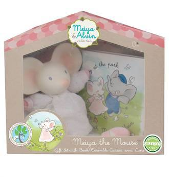Meiya & Alvin: Meiya Mini Toy and Book in Window Gift Box. - KidsnToysNZ