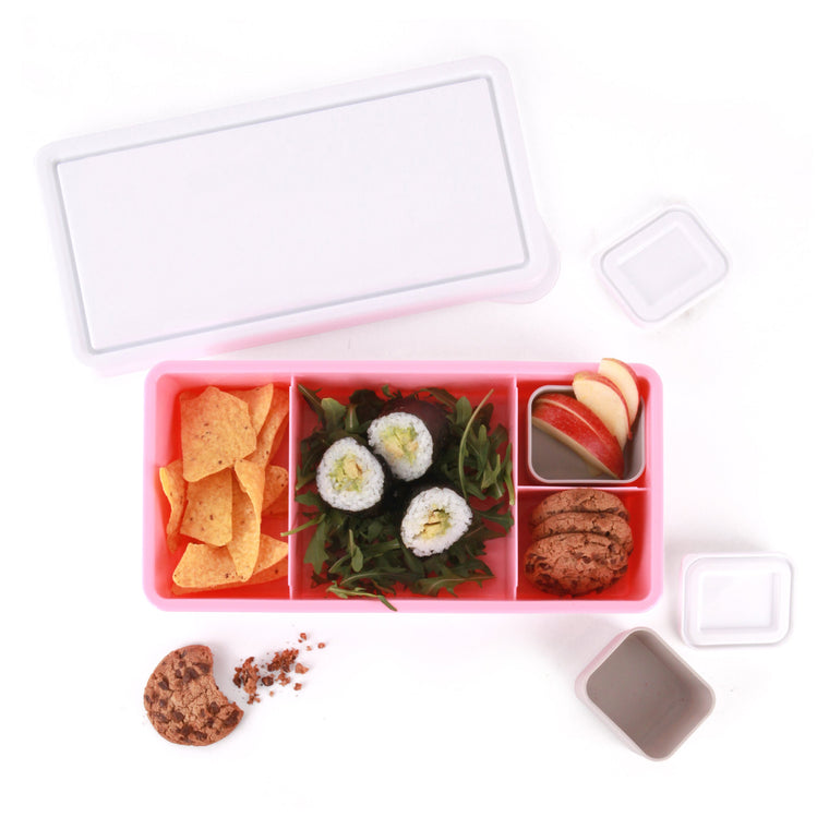 Love Mae: Lunch Box - Pink Base
