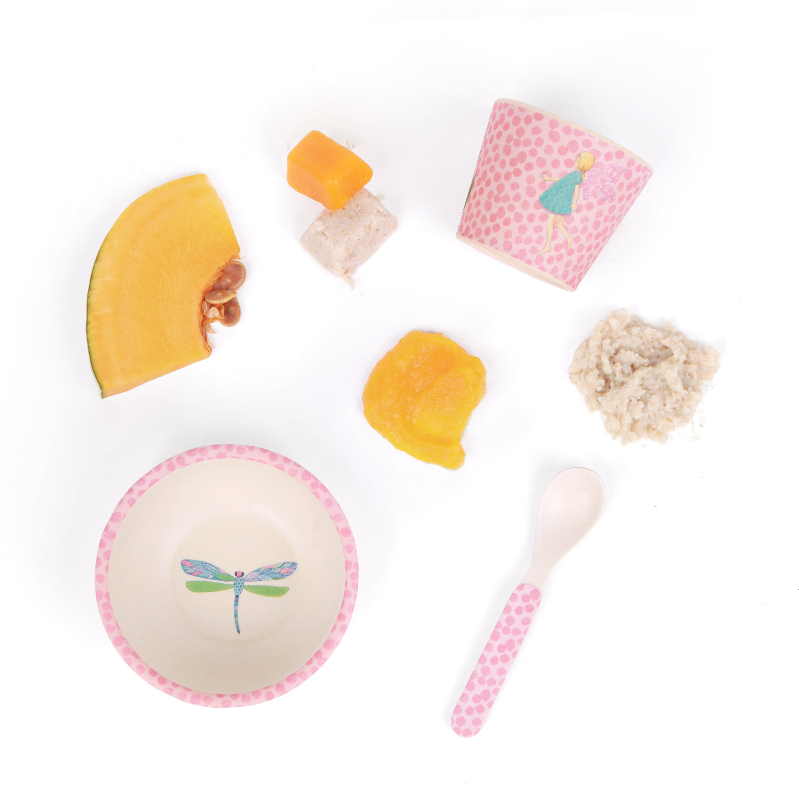 Love Mae: Baby Feeding Set - Fairy - KidsnToys.co.nz (4713058500679)