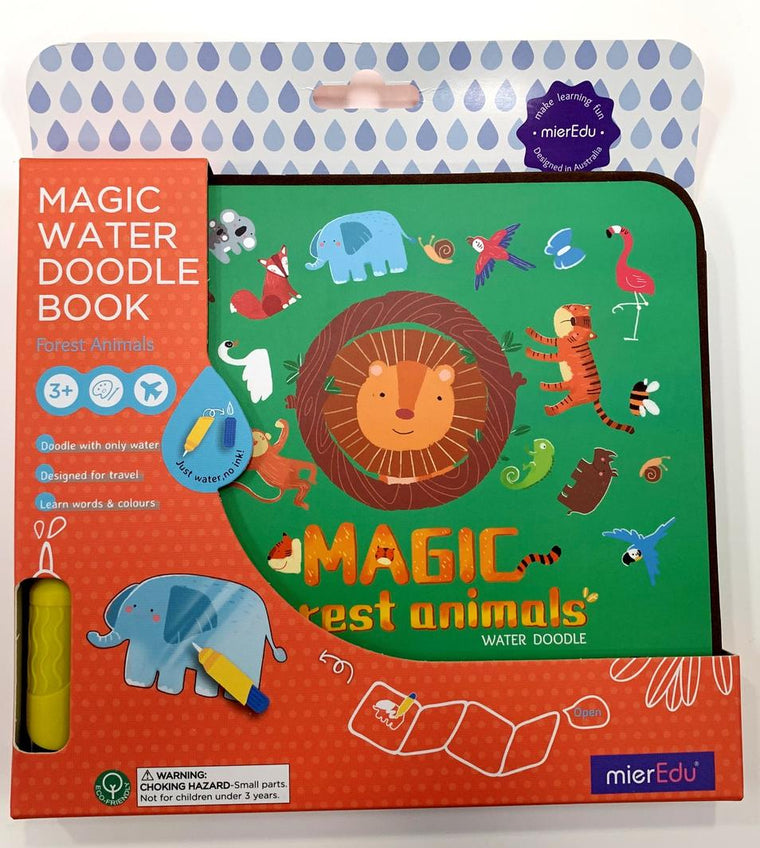 Mier Edu: Magic Water Doodle Book - Forest Animals