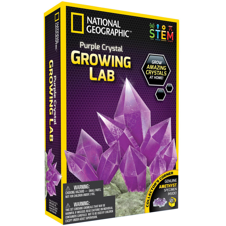 National Geographic: Purple Crystal