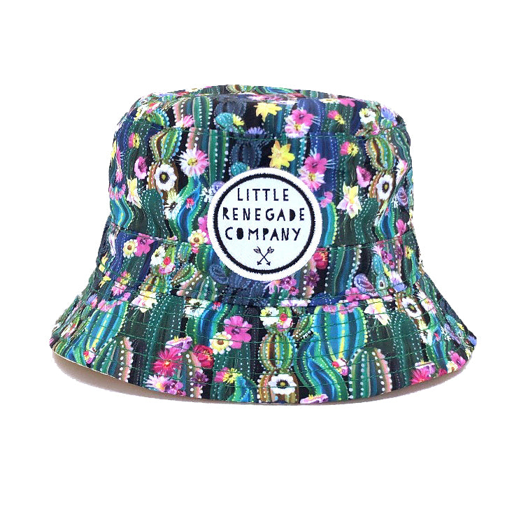 Little Renegade Company: Oasis Reversible Bucket Hat (4853836349511)