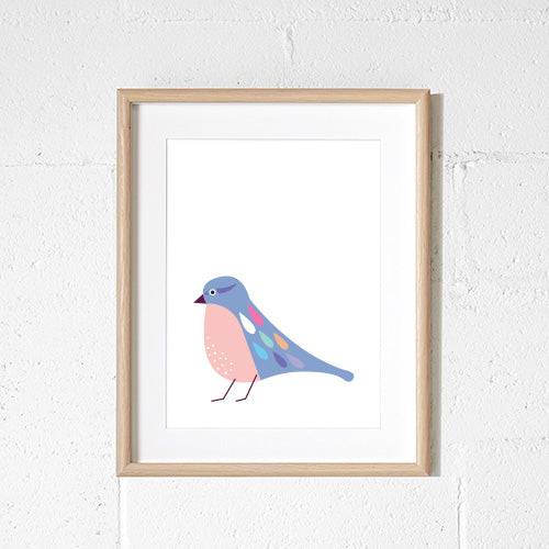 Sprout & Sparrow - A3 Sparrow Print - KidsnToys.co.nz