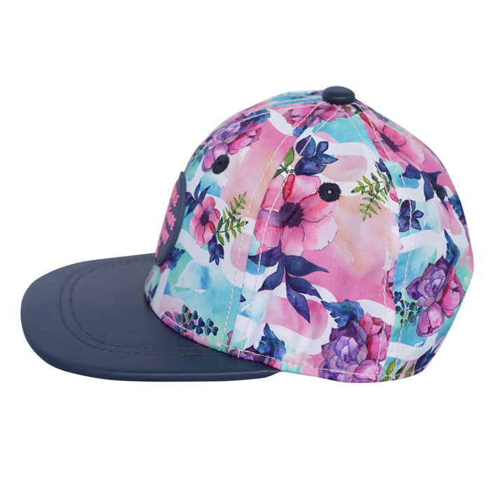 Little Renegade Company: Pastel Posies Snap Back Cap (4816535224391)